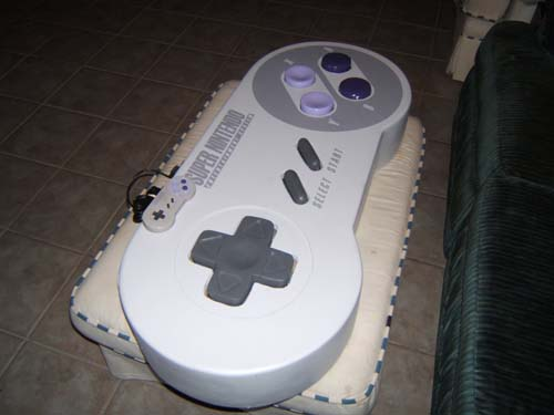 Super-Sized SNES Controller