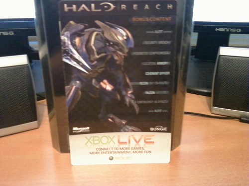 UPDATE] Halo: Reach Limited Edition Elite Armor Giveaway