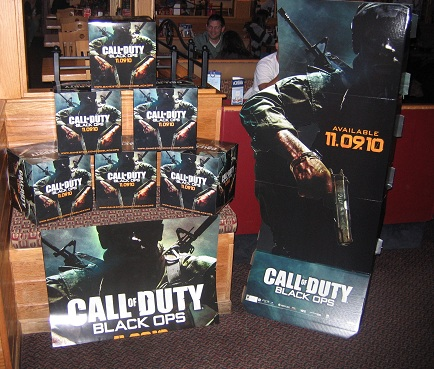 Black Ops Release Party At Applebee's 11.8.2010