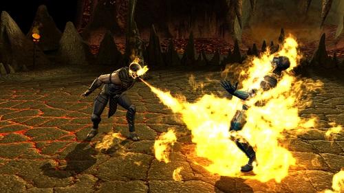 mortal kombat 9 scorpion fatality. Mortal Kombat Fatalities Are