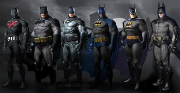 Pictured above are some of the costumes ... & The Many Costumes Of The Dark Knight From Batman: Arkham City