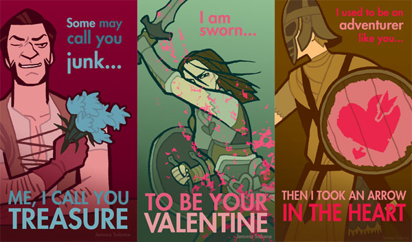 Skyrim Valentines Day Cards Would Melt The Heart Of A Daedric – Skyrim Valentines Card