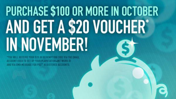 Buy $100 Worth Of Stuff In PSN Store, Get $20 Credit Back! | GamerFront