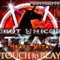 Review – Robot Unicorn Attack: Metal Version (iPhone)