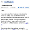 Class Cancelled On Account Of Portal 2?