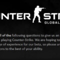 Counter-Strike: GO Survey Might Earn You A Beta Key