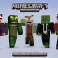 Minecraft XBLA Getting A Halloween Skin Pack