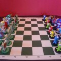 Check Out This Sweet Hand-Made Zelda Chess Set