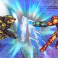 Master Chief Dominates Samus In A 16-Bit Deathmatch