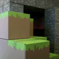 April Fools In The Office – Minecraft Style