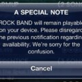 Rock Band iOS Not Cancelled After All