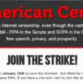 SOPA/PIPA Blackout