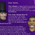 GameStop Gets Exclusive Presidential Pre-Order Bonus To Saints Row IV