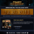 Star Wars: The Old Republic Release Date Announced: December 20, 2011
