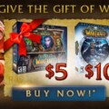 World of Warcraft Giant Sale, Give The Gift Of Gaming This Season