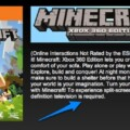 Refunds Being Offered For XBLA Minecraft Players