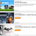 EA Announces 50% Sale At Origin