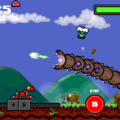 Super Mega Worm iPhone Game Puts The FUN In Destruction