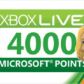 Get 4000 Microsoft Points For $40