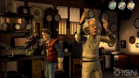"backtothrefuture1 Primeiro trailer de ""Back to the Future"" que será lançado para PC/PS3/MAC/iOS"